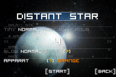 Welcome to Distant Star.